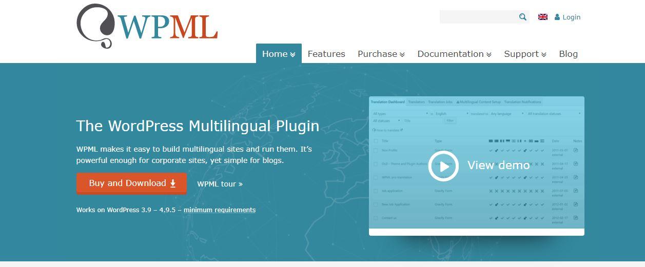 WPML多语言WordPress插件