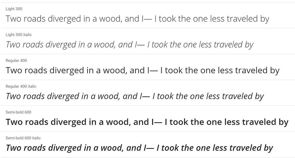 Open Sans-最好的Google字体