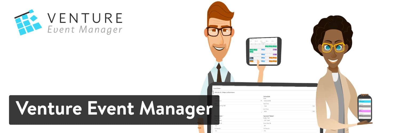 Venture Event Manager WordPress插件