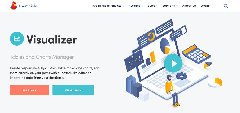 Visualizer Pro,数据可视化插件