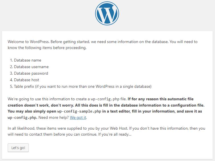 Welcome-WordPress