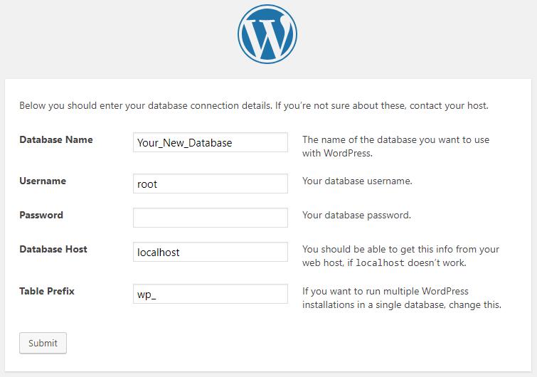 WordPress-Configuration
