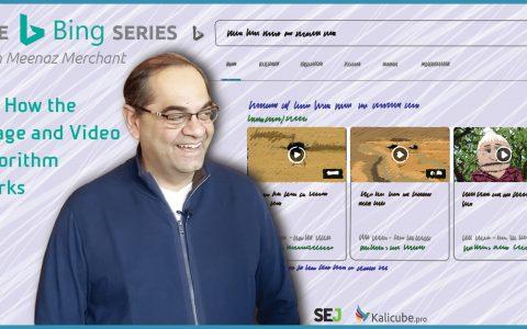 Bing的图像和视频算法的工作原理