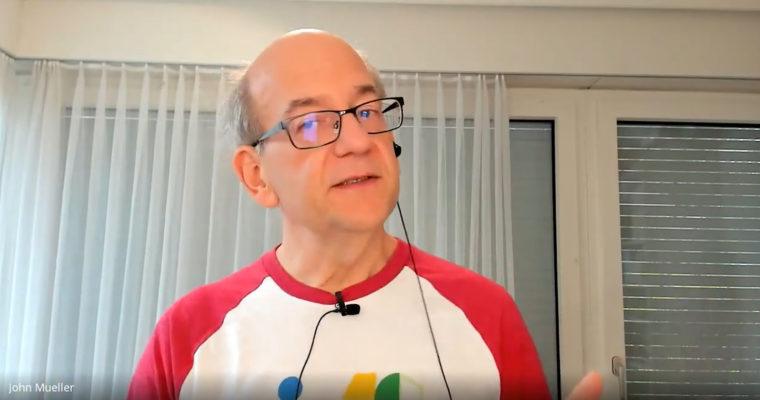 Google的John Mueller:不要等待人们找到您的网站