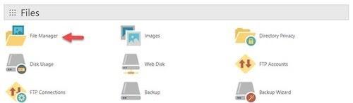wordpress-cpanel-file-manager