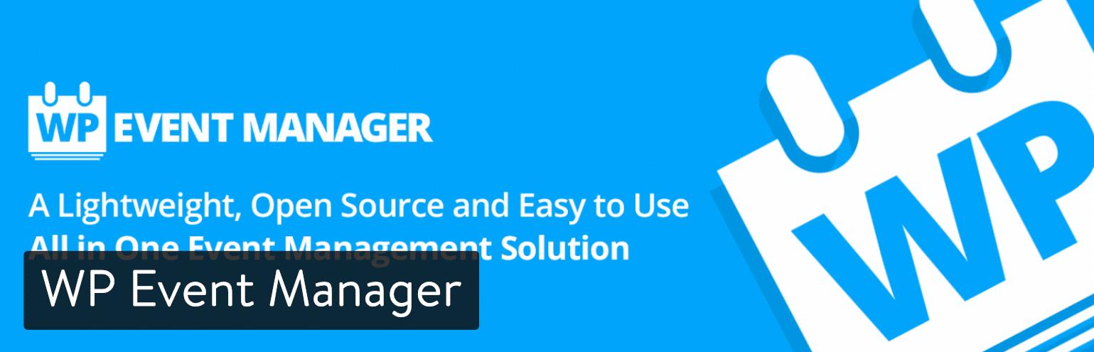 WP Event Manager WordPress插件