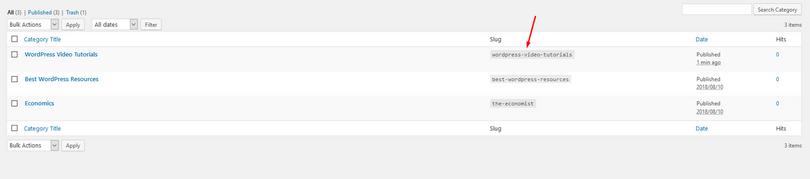 Feedzy使用类别页面上的标签来汇总和发布所有内容