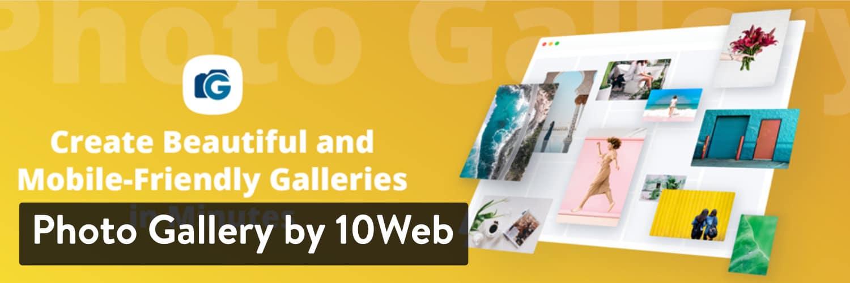 10Web WordPress插件的照片库