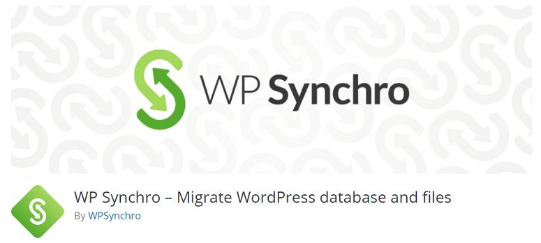 WP_Synchro,暂存插件