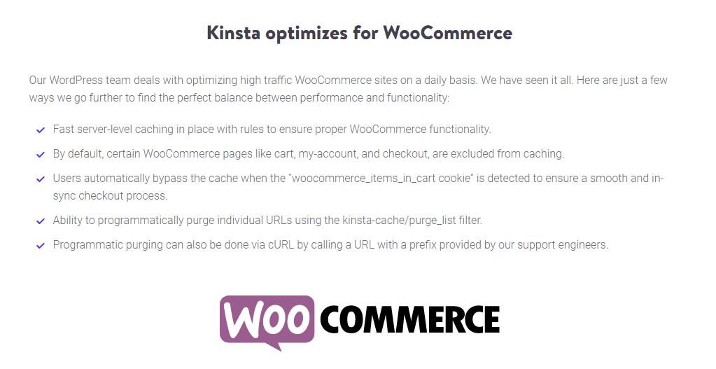 kinsta woocommerce优化