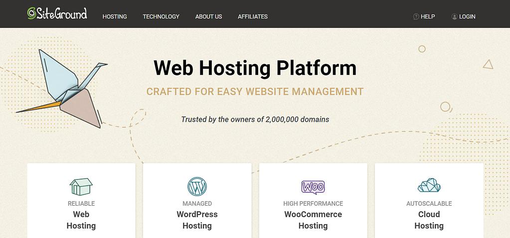 SiteGround提供具有托管WordPress功能的廉价WordPress托管