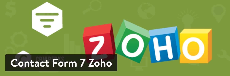 联系Form 7 Zoho WordPress插件