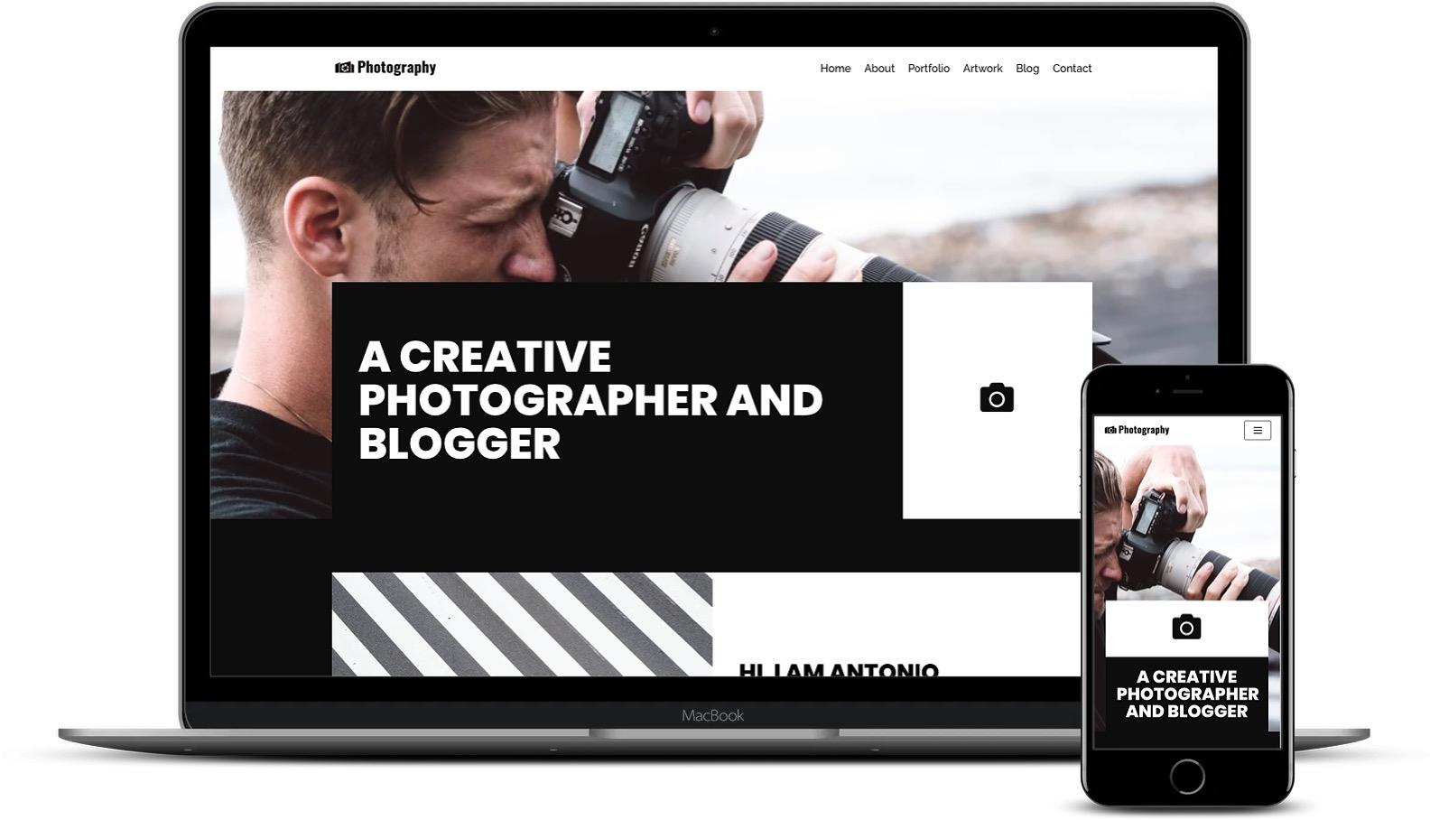 Neve最佳WordPress摄影主题