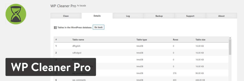 WP Cleaner Pro WordPress插件