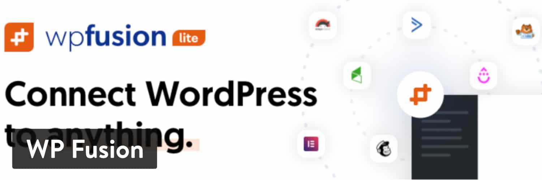 WP Fusion WordPress插件