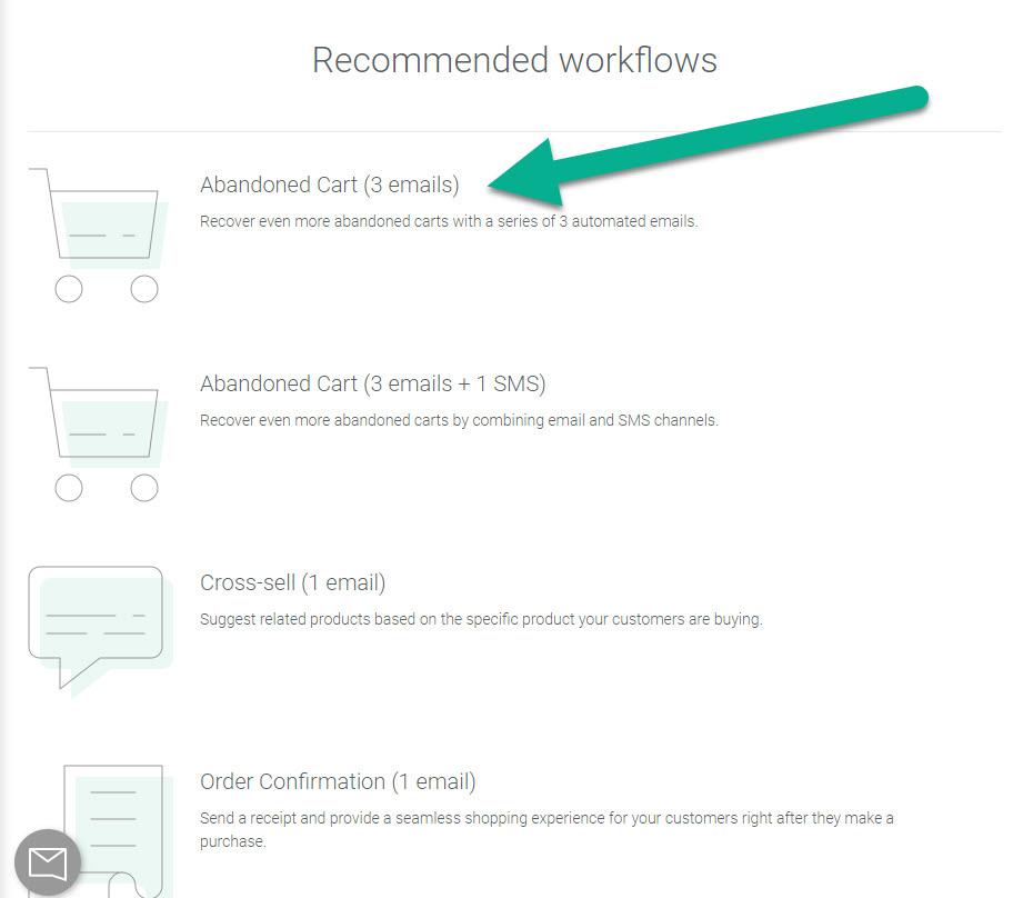 """Omnisend推荐的工作流程可帮助您入门"""" class ="""" wp-image-32142"""