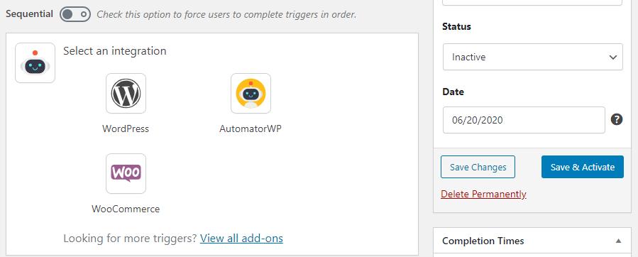 automatorwp如何自动执行wordpress-6中的几乎所有操作AutomatorWP:如何自动执行WordPress中的几乎所有操作