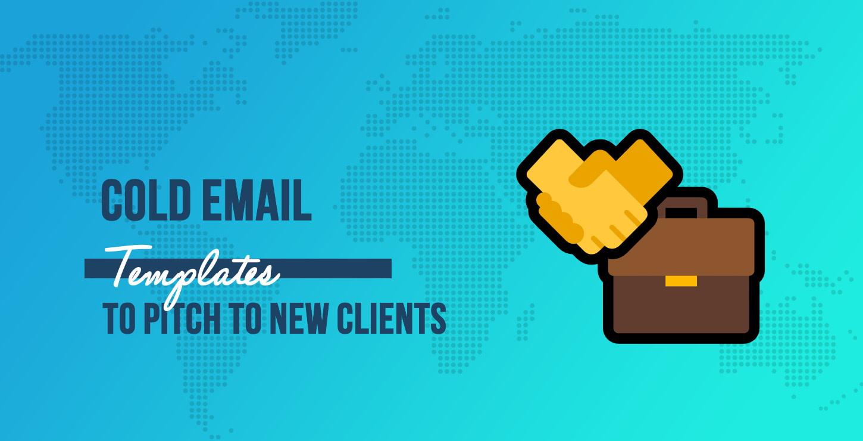 冷电子邮件模板向新客户推销