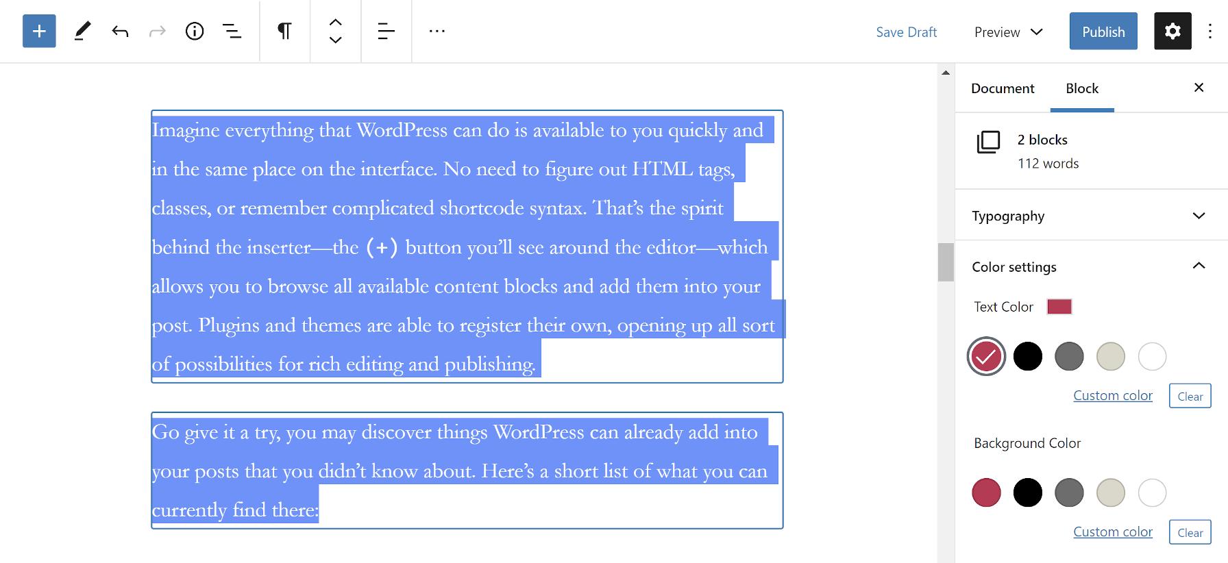 gutenberg-8-4-添加图像编辑包括多个块控件并启用块目录搜索Gutenberg 8.4添加图像编辑,包括多块控件并启用块目录搜索