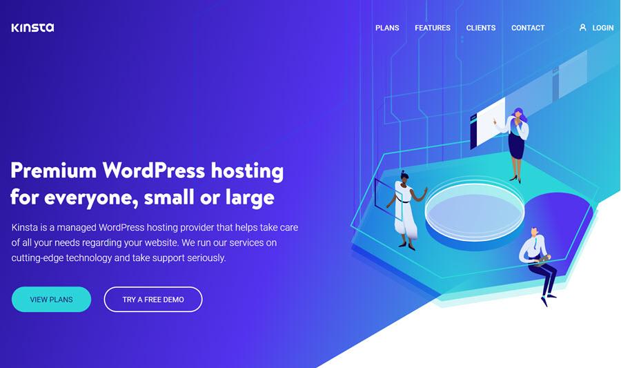 Kinsta为WordPress网站提供SEO虚拟主机