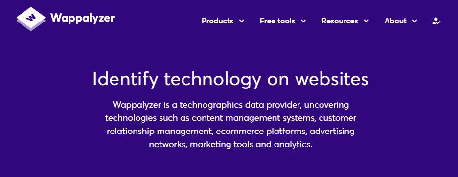 使用4种工具查看构建了一个网站的软件,以及为什么想要4种4种工具来查看构建了哪种软件的网站(以及为什么使用想要)