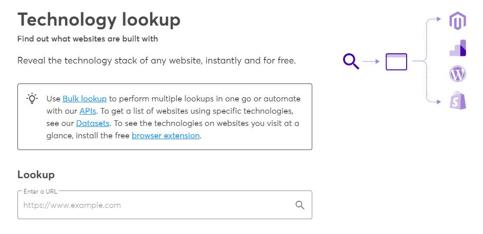 使用4种工具查看构建了一个网站的软件以及为什么要使用5种4种工具来查看构建了哪种软件的网站(以及为什么使用想要)