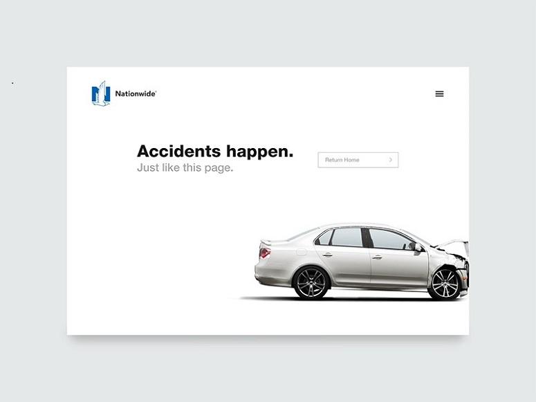 Ryan Duffy的404错误,激发了404错误页面