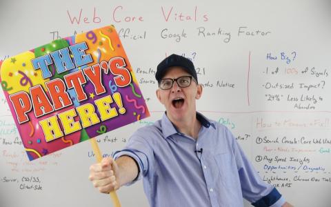 核心网络活力:Google下一个官方排名因素-白板星期五