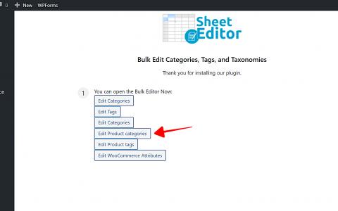 WordPress –如何使用层次结构导入类别