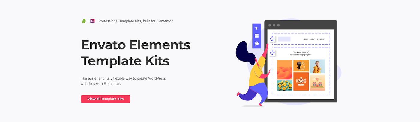 Envato Elements Elementor套件