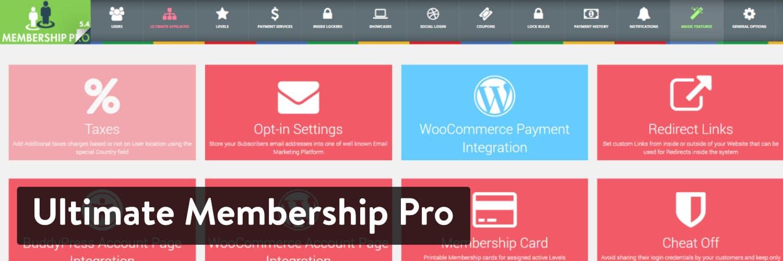 Ultimate Membership Pro WordPress插件