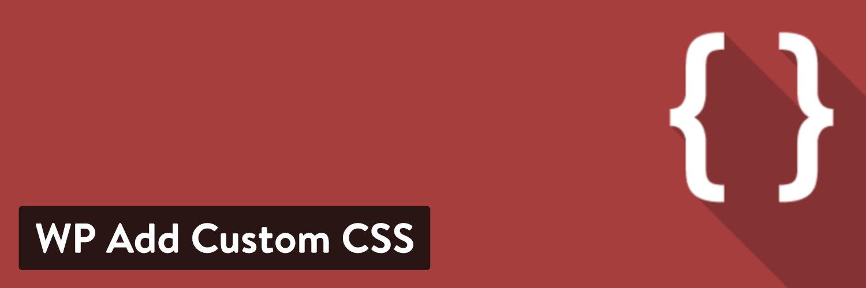 WP添加自定义CSS WordPress插件