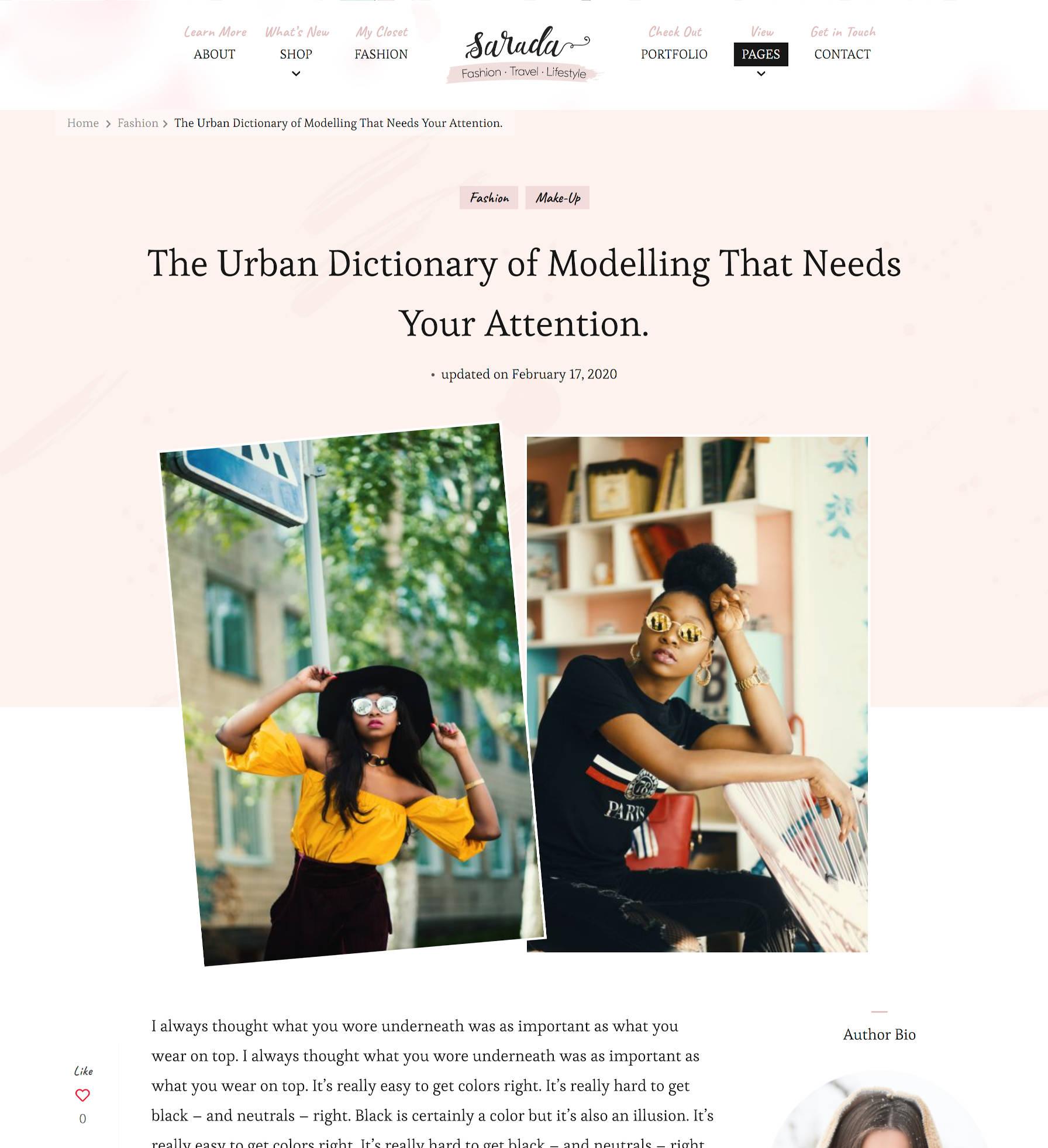 醒目的印刷术和个性开花主题-推出-sarada-lite-1引人注目的印刷术和个性:Blossom主题推出Sarada Lite