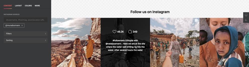 适用于WordPress的InstaShow Instagram Feed插件