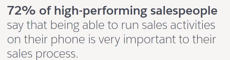 成功的销售人员的五个生产力秘诀  Salesforce 1 |  数字营销社区