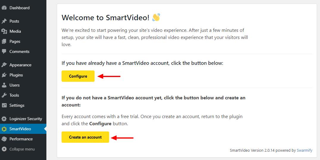 smartvideo仪表板