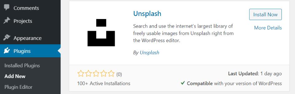 unsplash-wordpress-plugin-overview-and-view-5 Unsplash WordPress插件概述和审查