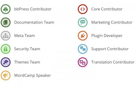 WordCamp出勤徽章可能是一件好事,但这是错误的讨论