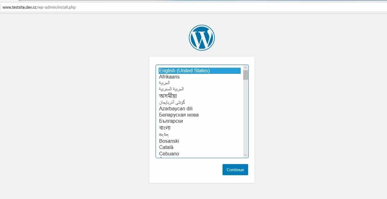 WordPress的新网站