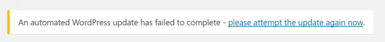 WordPress更新失败768x84 1
