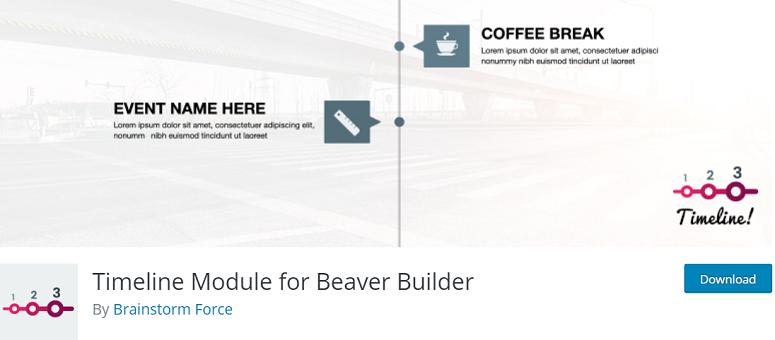Timeline_Module_for_Beaver_Builder,时间轴插件,时间轴插件