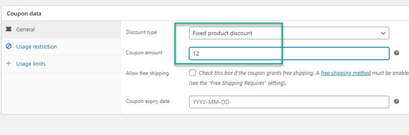WooCommerce免费礼品券的常规设置