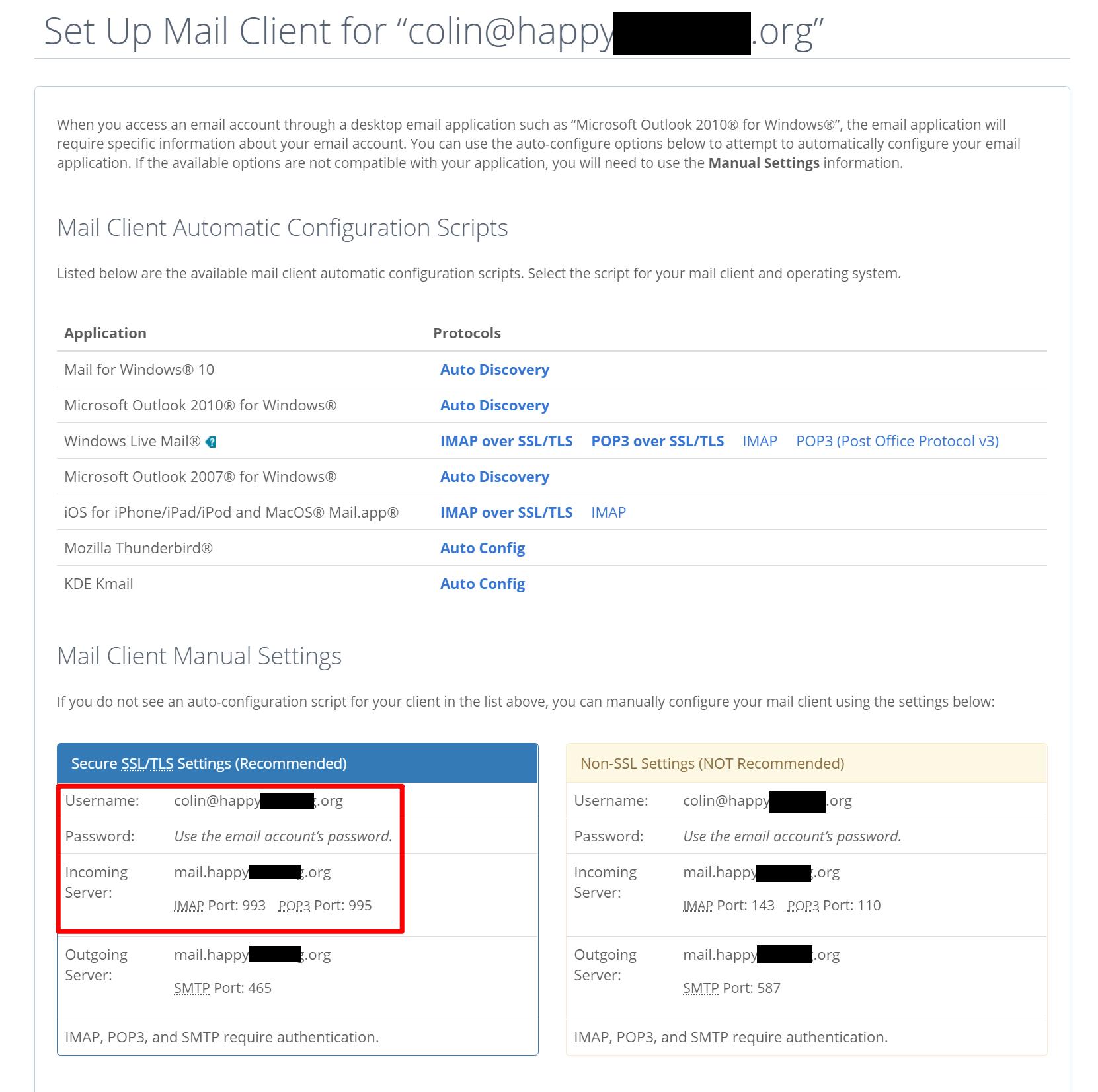 使用Bluehost设置电子邮件