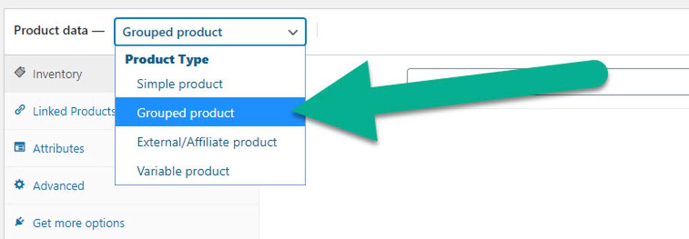 WooCommerce捆绑产品的分组产品