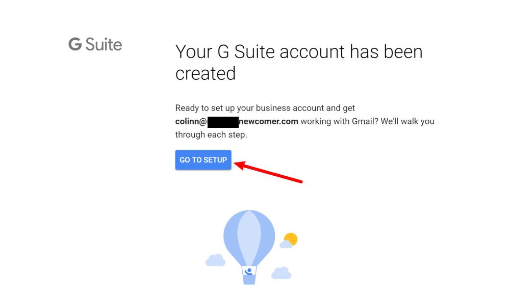 具有您自己的自定义域名的Gmail:转到G Suite设置