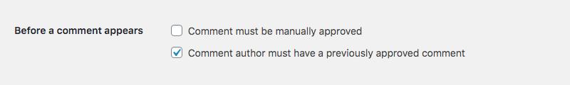 WordPress评论审核:在评论出现之前