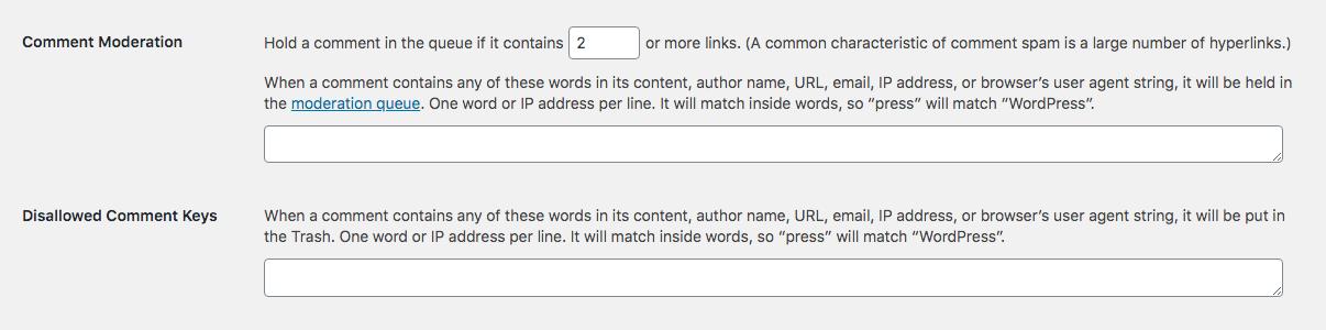 WordPress评论审核:过滤器