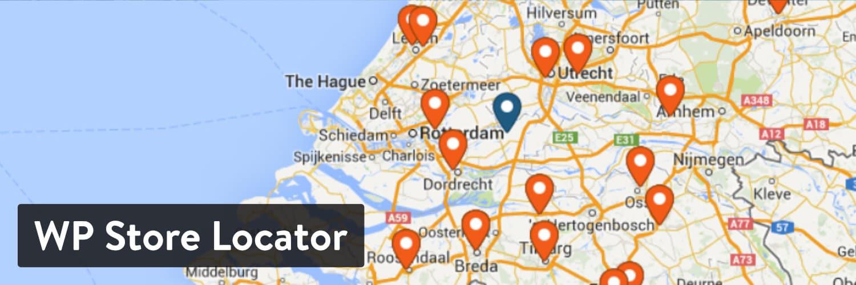WP Store Locator插件