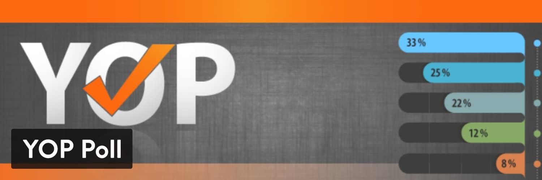 YOP Poll WordPress插件-WordPress调查插件