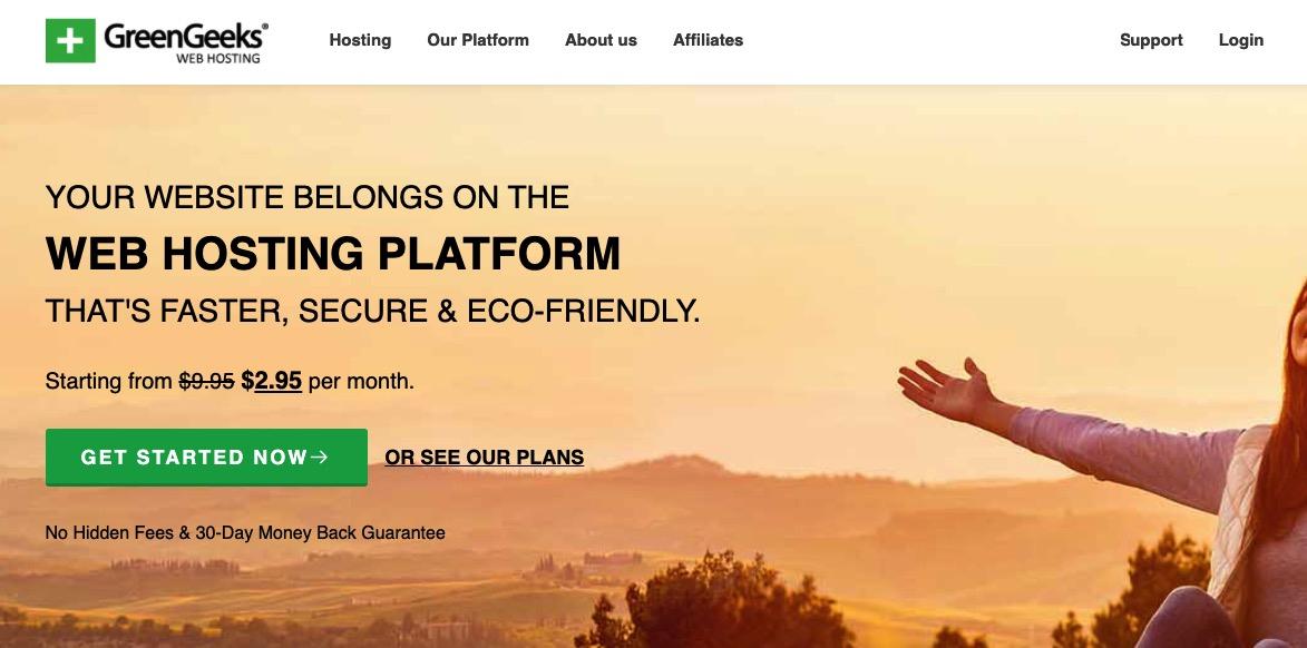 GreenGeeks-主机可帮助您减少WordPress博客的碳足迹